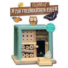 """Luxus Insektenhotels Insektenhotel """"Gasthof zur freundlichen Eule"""""""