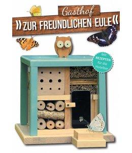 "Shabby Chic Insektenhotel ""Gasthof zur freundlichen Eule"""