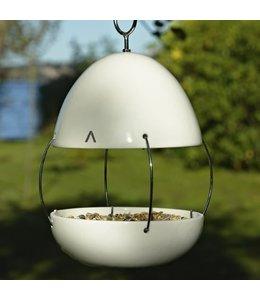 Garten Vogelhaus Porzellan, weiß