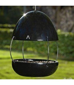 Garten Vogelhaus Porzellan, schwarz