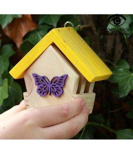 Garten Schmetterlingshaus - Geschenkset für Kinder