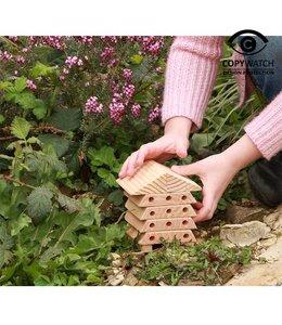 Shabby Chic Bienenhaus - Geschenkset für Kinder