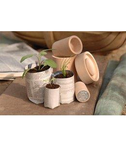 Eco Pot Maker: Für das ökologische Zuhause für Ihre Sämlinge