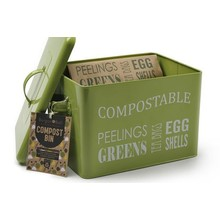 Burgon & Ball Kompostbehälter Metall
