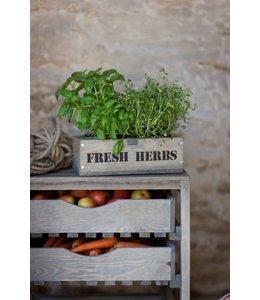 Garten Kräuterbox Fichtenholz
