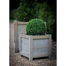 Gartendekoration Landhausstil Pflanztopf Fichtenholz