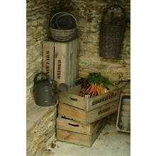 Gartendekoration Landhausstil Gemüsekisten 3er-Set Fichtenholz