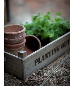 """Anzuchtkasten Landhaus """"Planting Out"""" Fichtenholz"""