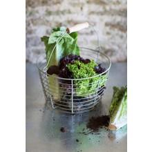 Gartendekoration Landhausstil Gartenkorb für Ihre Salaternte