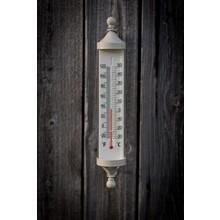 Gartendekoration Landhausstil Gartenthermometer