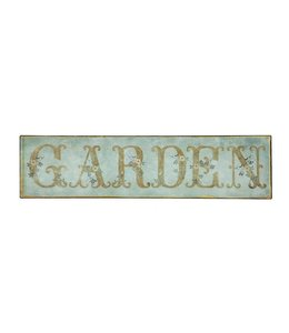 """Shabby Chic Schild """"Garden"""" aus England"""