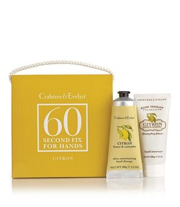 Crabtree & Evelyn Citron, Honey & Coriander 60 Second Fix Kit Handpflegeset