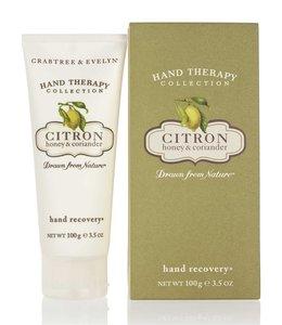 Crabtree & Evelyn Citron, Honey & Coriander Hand Recovery Handpeeling 100 g