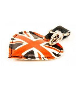 "Schlüsselanhänger ""Union Jack"" Leder"