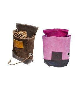 Gürteltasche für Gartenschnur, Leder (2 Farben)