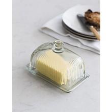 Villa Jähn Landhaus Kollektion Butterdose Glas für Fassbutter
