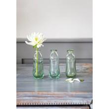Villa Jähn Landhaus Kollektion 3er Set Blumenvasen Glas