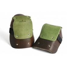 Bradleys Knieschoner Leder, grün