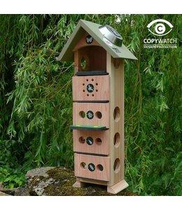 Garten Insektenhotel für Florfliegen, Wildbienen, Marienkäfer, Schmetterlinge