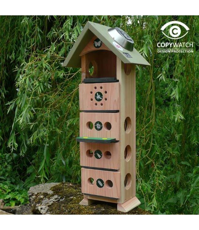 wildlife world insektenhotel f r florfliegen wildbienen. Black Bedroom Furniture Sets. Home Design Ideas