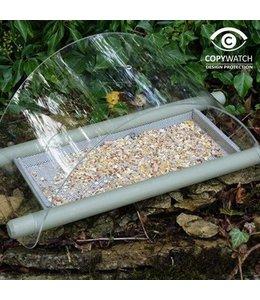 Wildlife World Bodenfutterstation für Rotkehlchen, Amseln u.a. Bodenesser