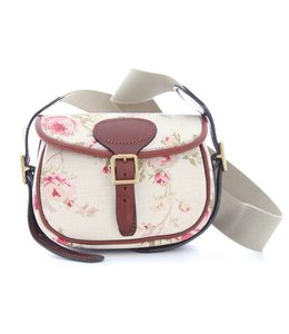 "Bradleys ""Rose Floral Cartridge Bag"""