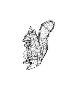 Formschnitt-Schablone Eichhörnchen
