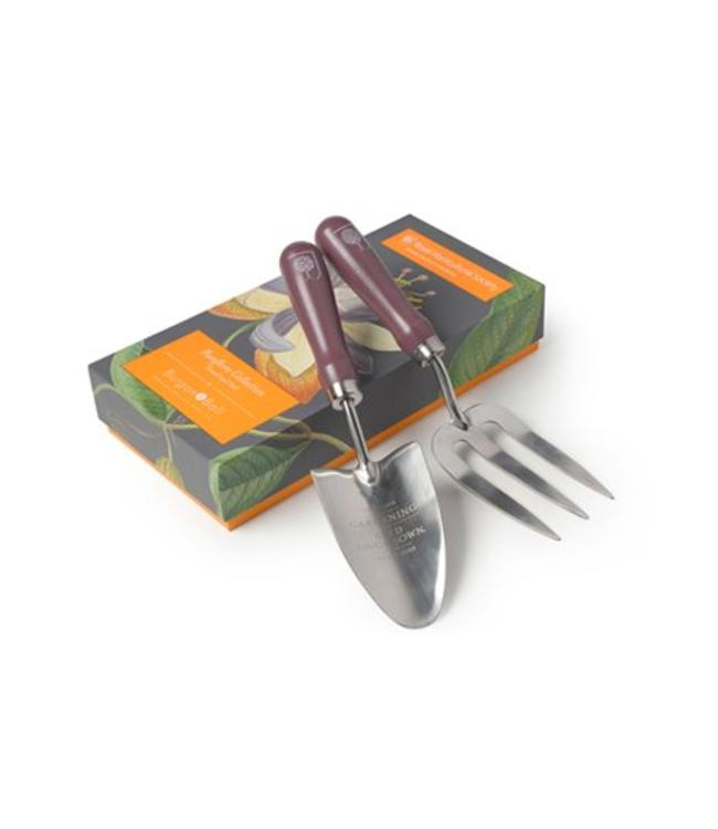 Burgon & Ball Handschaufel & Handgabel Passiflora