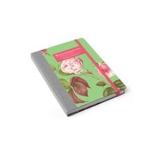 Burgon & Ball Garten-Notizbuch Rosa Chinensis
