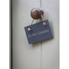 "Villa Jähn Garten Kollektion Gartenschild ""In the Garden"""