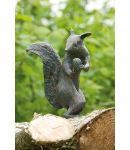 Landhaus Eichhörnchen Bronze