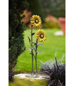 Landhaus Sonnenblume Bronze