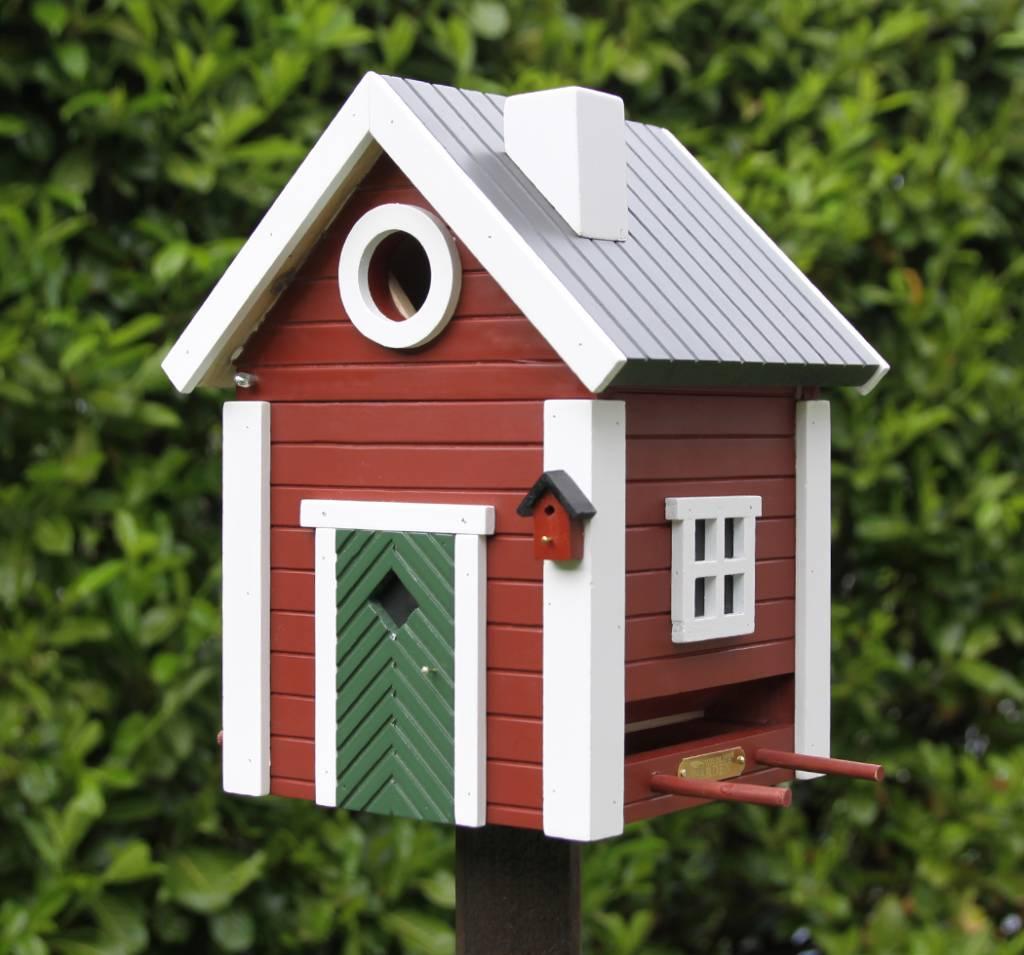 multiholk vogelhaus schwedenkate villa j hn landhaus shop. Black Bedroom Furniture Sets. Home Design Ideas