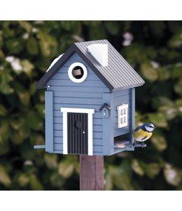 Garten Multiholk Vogelhaus Blaues Haus