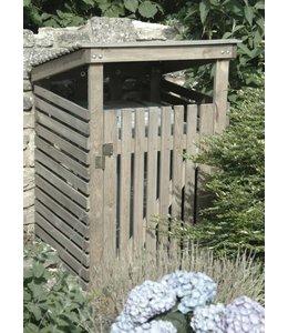 Garten Mülltonnenbox Fichtenholz