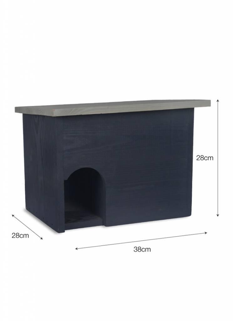 igel im garten igelhaus kiefernholz villa j hn gmbh. Black Bedroom Furniture Sets. Home Design Ideas