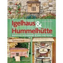 Gartenbücher Igelhaus & Hummelhütte