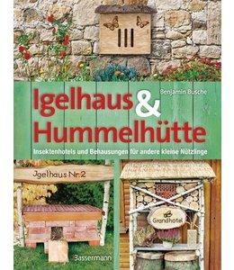 Shabby Chic Igelhaus & Hummelhütte