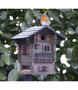 Multiholk Vogelhaus Alpenhaus