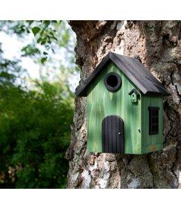 Wildlife Garden Nistkasten Gebeizt, grün