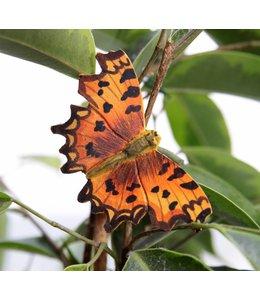 Garten 7 Deko-Schmetterlinge handgeschnitzt