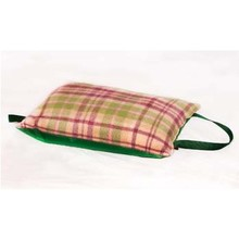 Tweedmill Kniekissen Wolle Cottage Pink/Green
