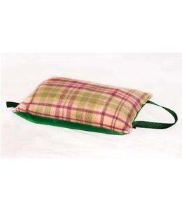 Tweedmill  Kniekissen Wolle Cottage Pink/Green