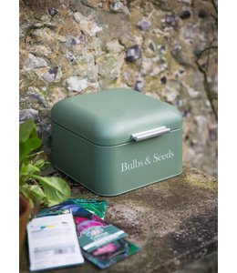 Shabby Chic Aufbewahrungsbox für Blumenzwiebeln und Pflanzensamen