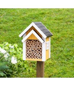 Wildlife Garden Nistkasten für Solitärbienen, gelb