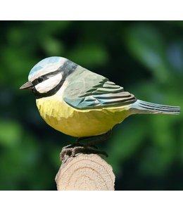 Wildlife Garden Blaumeise handgeschnitzt