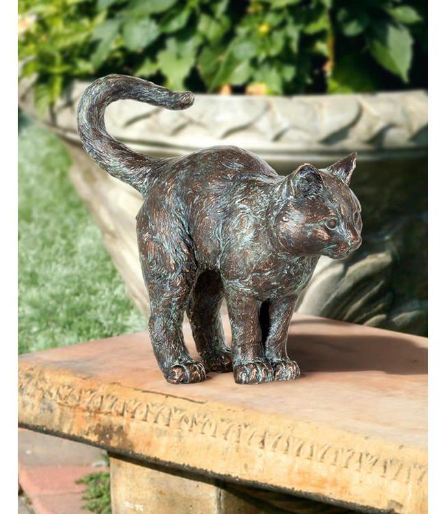 Edition Strassacker Junge Katze Bronze