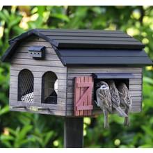 Wildlife Garden Futterscheune für Vögel, braun