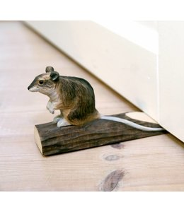 Türstopper Türstopper Maus, handgeschnitzt