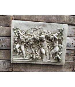 "Garten Wandbild aus Stein ""Engel"""